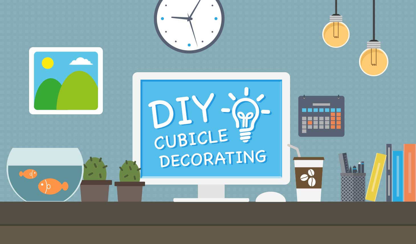 DIY Decorate Your Cubicle The Fastcubes Blog Life Cubed
